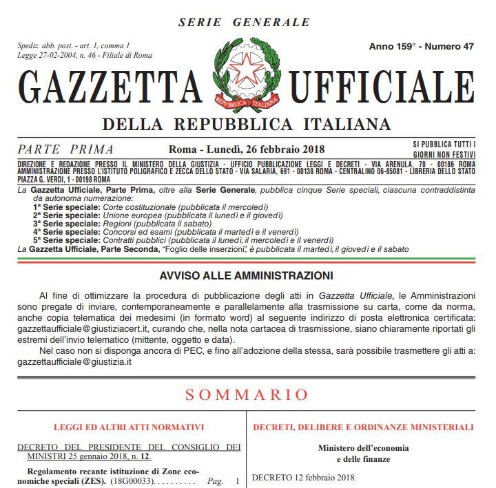 Zes Zone Economiche Speciali In Puglia E Basilicata Digital Manager Antonio Ruggieri Consultrade Srl Puglia Italy